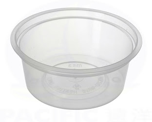 round microwable container