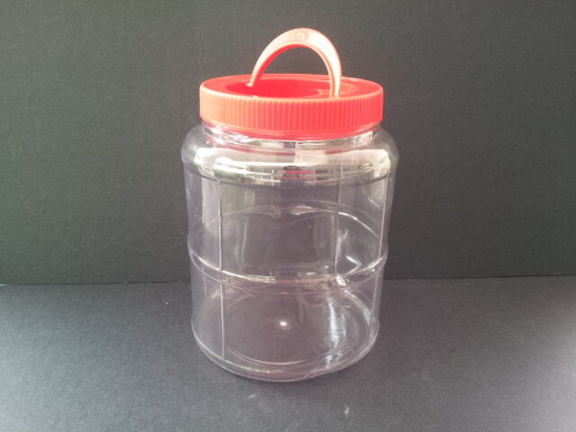 RED PET JAR